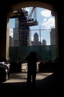 Reflection in Ground Zero by Sikthy-Mish