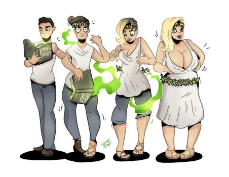 Greek Life - TG Transformation by Grumpy-TG