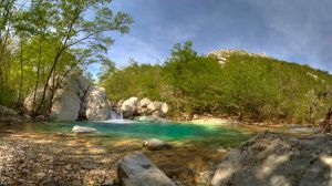 Cold spring water by MatejBarisic