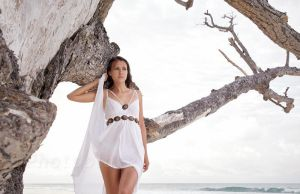 white dress 03 by photoplace