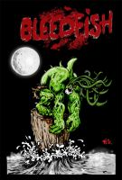 Bleedfish cover in color by pigmanga