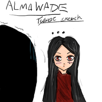 Alma Wade - ... (Test Tablet Sketch) by Crazyb2000