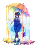 Rainbow in the Rain by MaGeXP