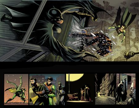 Batman and Robin Eternal #7 2-3 by SandraMJ