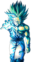 Teen Gohan SS2 Kamehameha by alexiscabo1