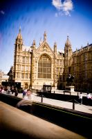 Westminster Abbey by monstrr