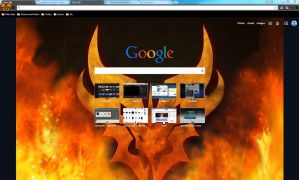 Predacon Google Chrome Theme by FlameWolf101