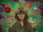 Homestuck Calendar 2015 April by thiefofstarz