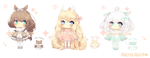 Points/Paypal Adoptable Auction 5: [CLOSED] by ArtsyAica
