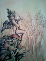 The Fleeting Fall Farie by aine1989