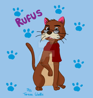 Rufus The Cat - The Rescuers by AnimationFanatic