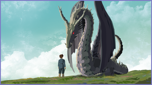 Tales from Earthsea - Arren and Therru by Judan