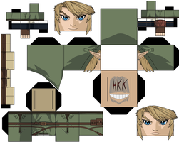 link Twilight Princess by hollowkingking