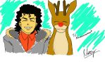 :COMMISSION: Michael and Rudolph by Mawinthehedge