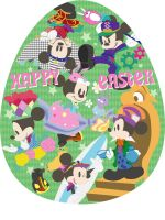 Happy Easter MICKEY by Piyo10M