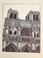 The Notre Dame Cathedral by 7ishfish
