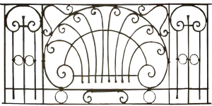 Gothic Iron Fence PNG by KarahRobinson-Art