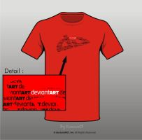 Semi-Finalist: 'DA_wordART' by deviantWEAR