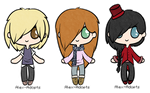Chibi Adopts: OPEN [50 Points Each] by Alex-Adopts