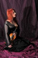 The violinist 9 by Meltys-stock