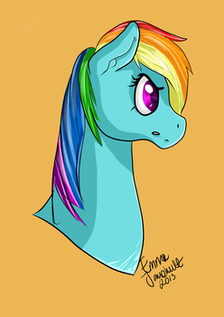 Rainbow Dash by jigsaw91