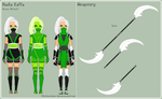 MK - Nadia Reference Sheet by theRainbowOverlord