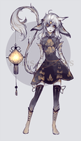 [CLOSED] adopts auction - Dead Light by Polis-adopts