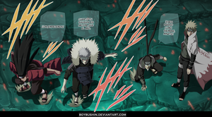 Hokages come back to the battle by MilarS