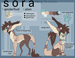 Fursona Reference :Feral: 2015 by GemEyed