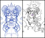 30 Day Drawing Challenge Days 1 and 2 by Zetsugos-K