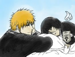 IchiRuki:Guardian Angel(by Duongvjp/colored by me) by PeachBerryDivision