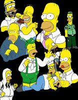 Homer Simpson Drawings by PatrickJoseph