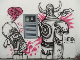 Graffiti 03 by gumballmachines