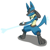 Lucario by Korteh