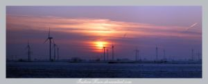 Sunset Pano by IndianRain