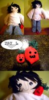 DN- L plushie by anythingliketoday