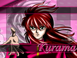Kurama's wallpaper by SamuelHavel