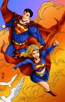 The Supers - Colored by TheBurnCycle