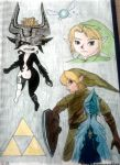 The legend of Zelda by destelloscuro