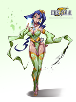 Street Fantasy IV - Rose Rydia by TirNaNogIndustries