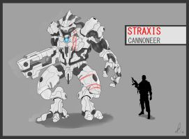 Straxis Cannoneer by OH-EREN