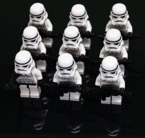 Storm trooper parade by DylanusPrime