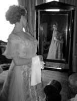 woman behind the mirror by ocsilla15