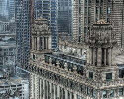 Close up of Jewelers Building by spudart