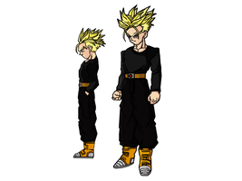 Trunks Design Sheet by darkhawk5
