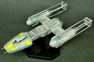 Y-Wing Fighter by Roguewing