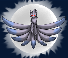 Ledgond of the silver ninetales by Incyray