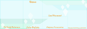 TEMPLATE: SU Gem/Gemsona Reference Sheet Base by InvaderIka