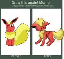 Before and After Meme by KittenthePsycho