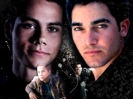 Sterek Wallpaper by Weronika315